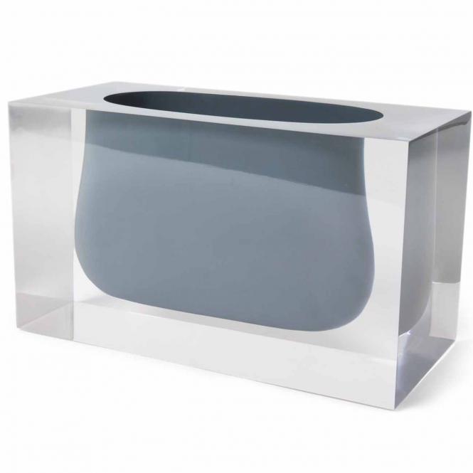 Bel Air Gorge Vase grau von Jonathan Adler