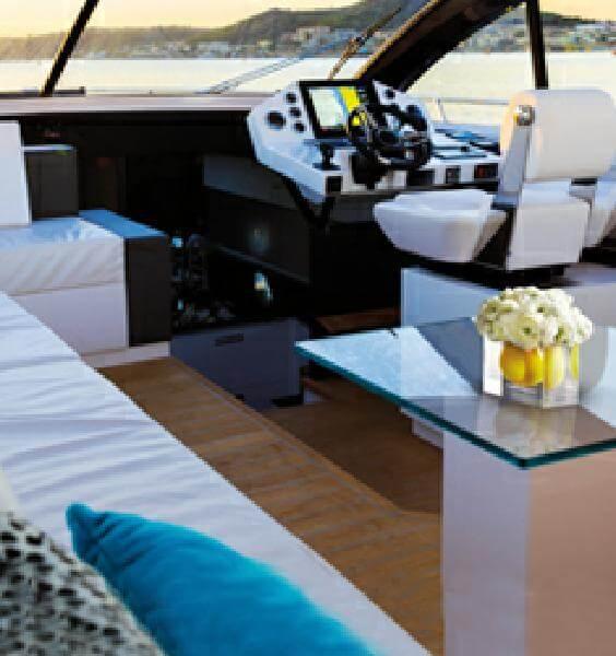 Ausstattung für Yachten & Flugzeuge