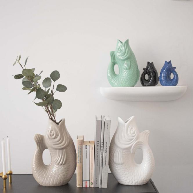 Vase/Krug Monsieur Carafon schwarz, XS