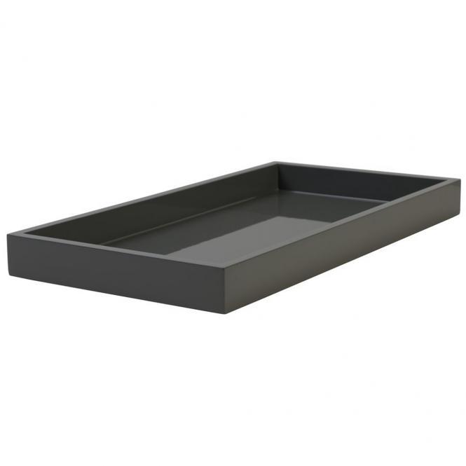 Lacktablett SPA medium rechteckig, graphite