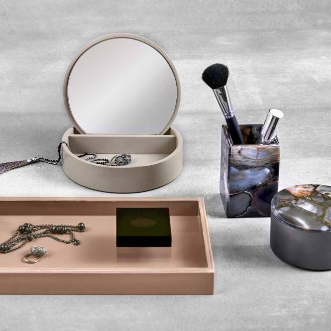 Jewellery Box, Cool Grey