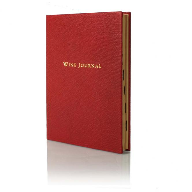 "Weinbuch ""Wine Journal"" L weinrot"