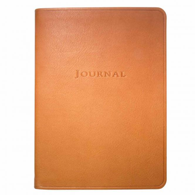 Journal liniert medium, braun