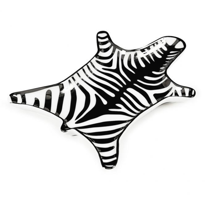 Ablageschale Carnaby Zebra, schwarz