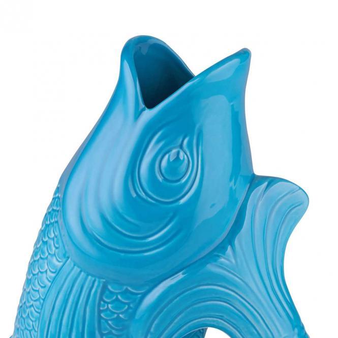 Vase/Krug Monsieur Carafon lagoon, klein