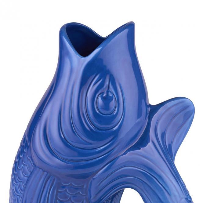 Vase/Krug Monsieur Carafon azure, groß
