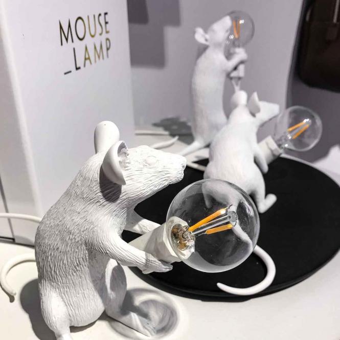"""""""Mouse Lamp"""" Sitzend"""