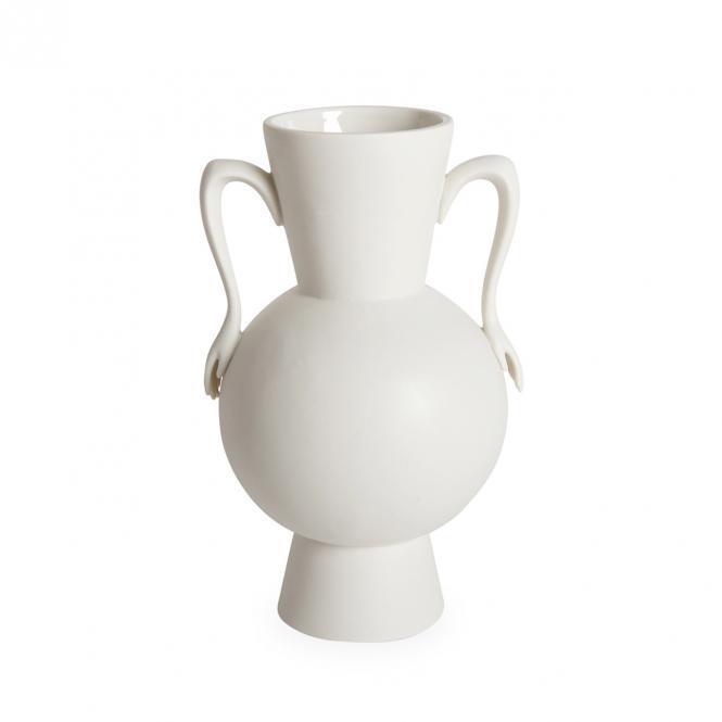 Eve Urn Vase, weiß von Jonathan Adler