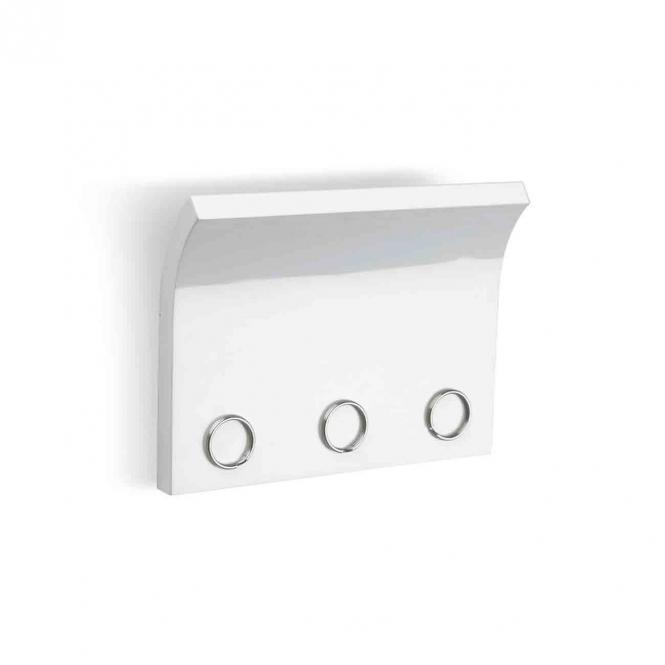 Wandhalter Schlüsselhalter Magnetter, weiß