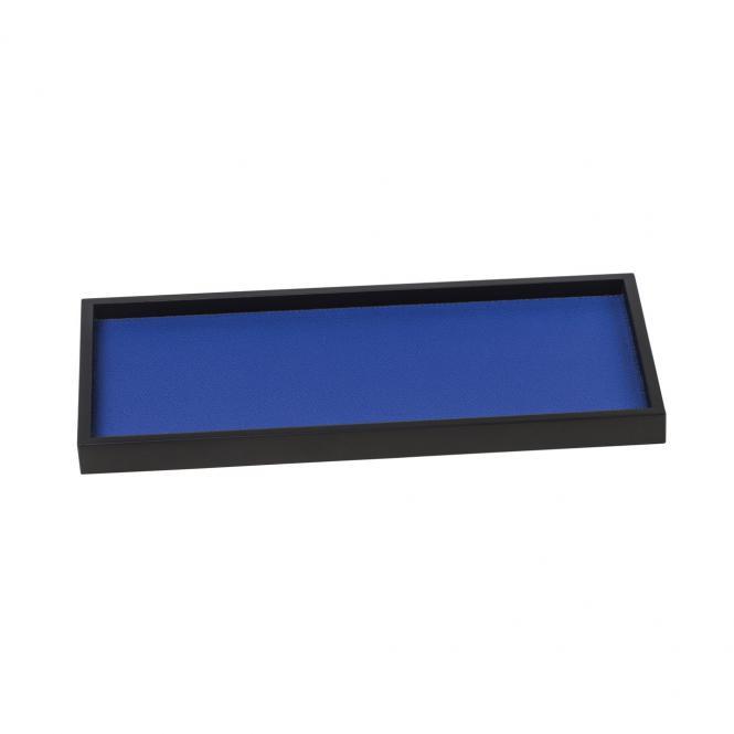 Lederablage Phorma rechteckig small, cobalt blau