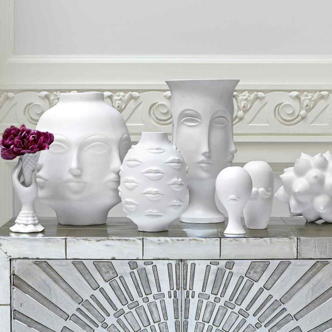 I-Scream Vase, weiß von Jonathan Adler