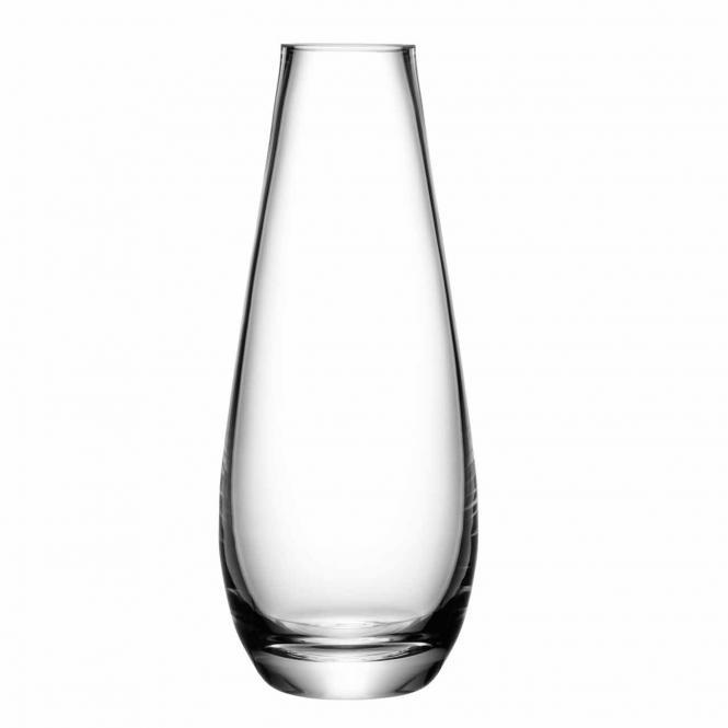 Vase für lange Stiele, klar