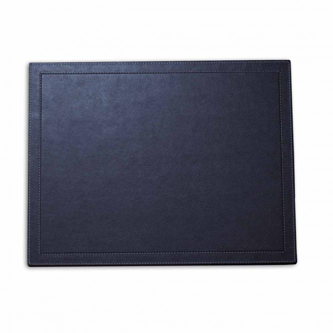 Schreibtischauflage, marine blau
