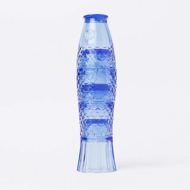 4er Set stapelbare Gläser Koifish von DOIY, blau,