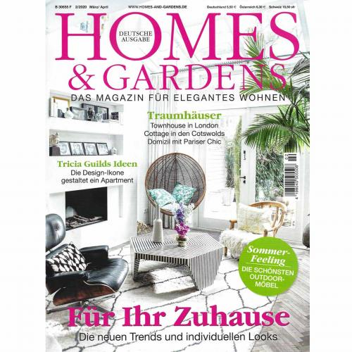 Designmagazin Homes & Gardens 02/2020