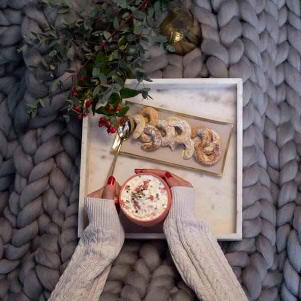 Wintermärchen weisse Weihnachten